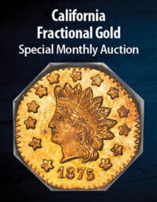 California Fractional Gold US Coins Special Monthly
