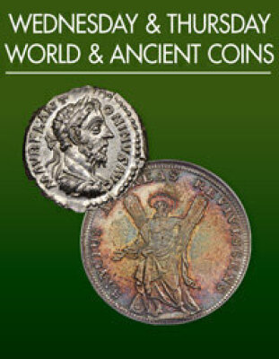 Wednesday & Thursday World & Ancient Coins Weekly Online